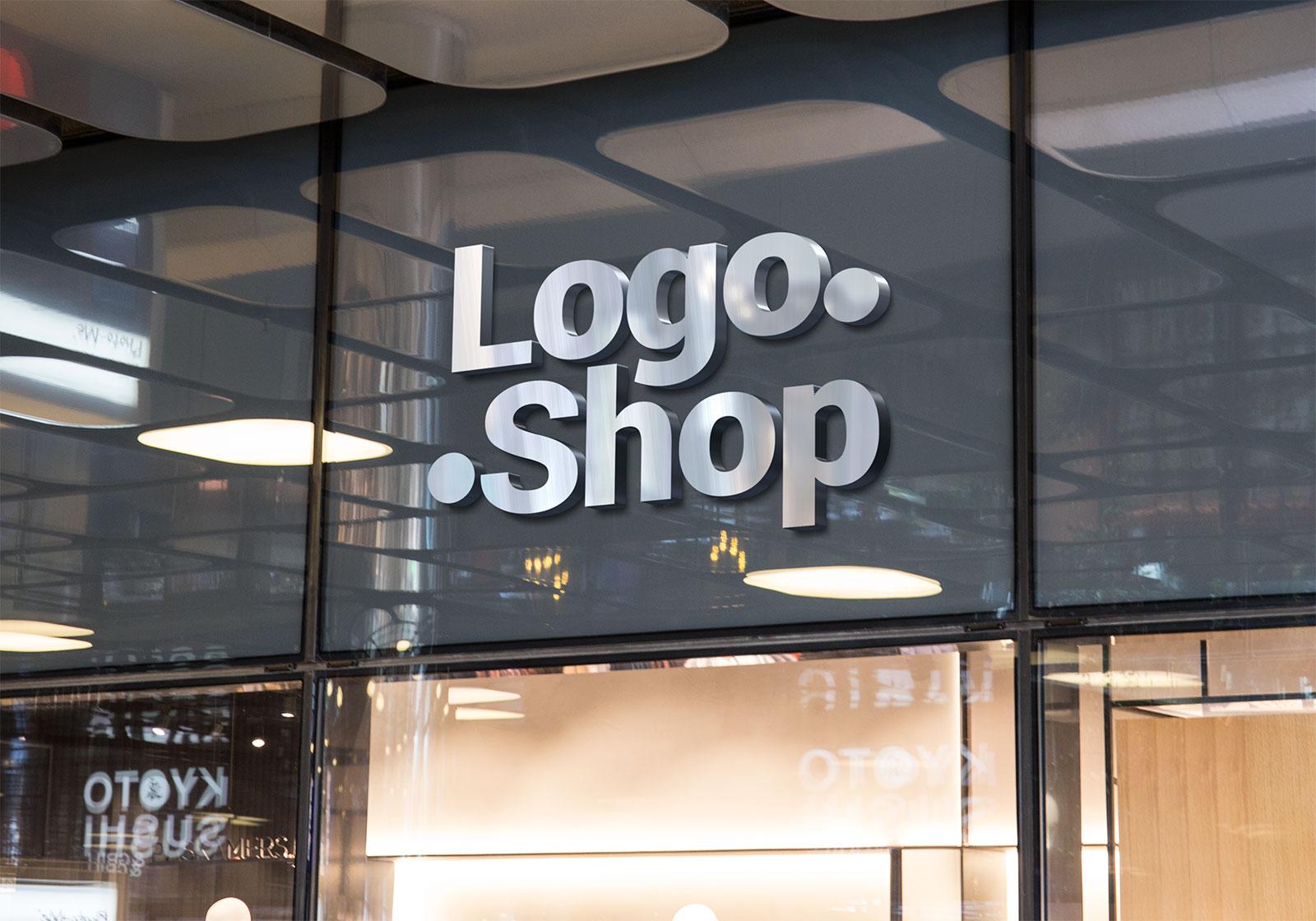 Free-Shop-Name-Fascia-Logo-Mockup-PSD