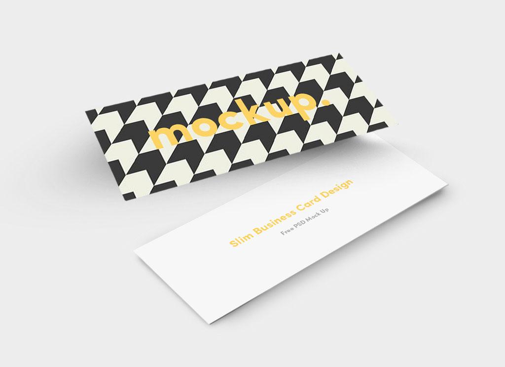 Free-Slim-Business-Card-Mockup-PSD-file