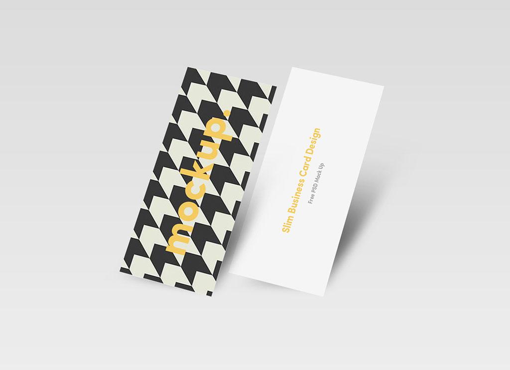 Free-Slim-Business-Card-Mockup-PSD