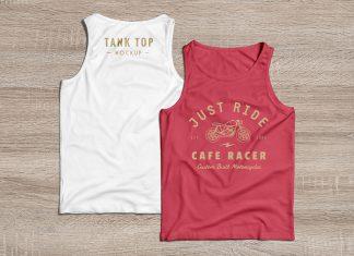 Free-Tank-Top-T-Shirt-Mockup-PSD-Front-Back