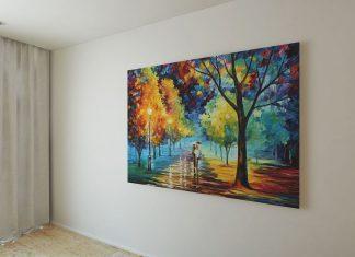 Free-Wall-Painting-Frame-Mockup-PSD-File