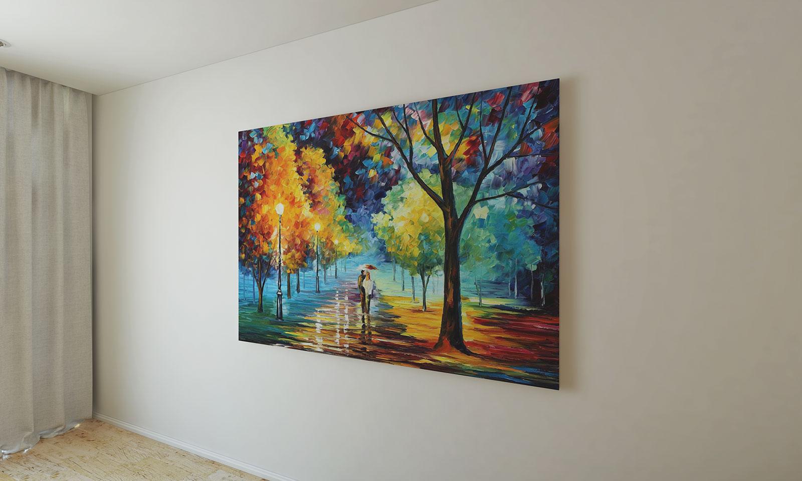 Free Wall Painting Frame Mockup Psd Good Mockups