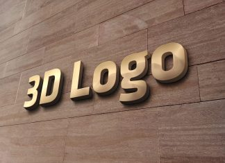 Free-3D-Wall-Sign-Logo-Mockup-PSD