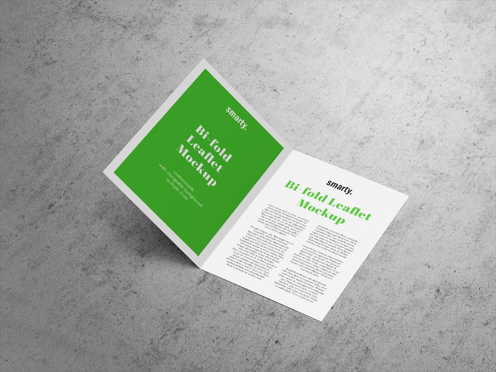 free a5 bi fold brochure leaflet mockup psd good mockups