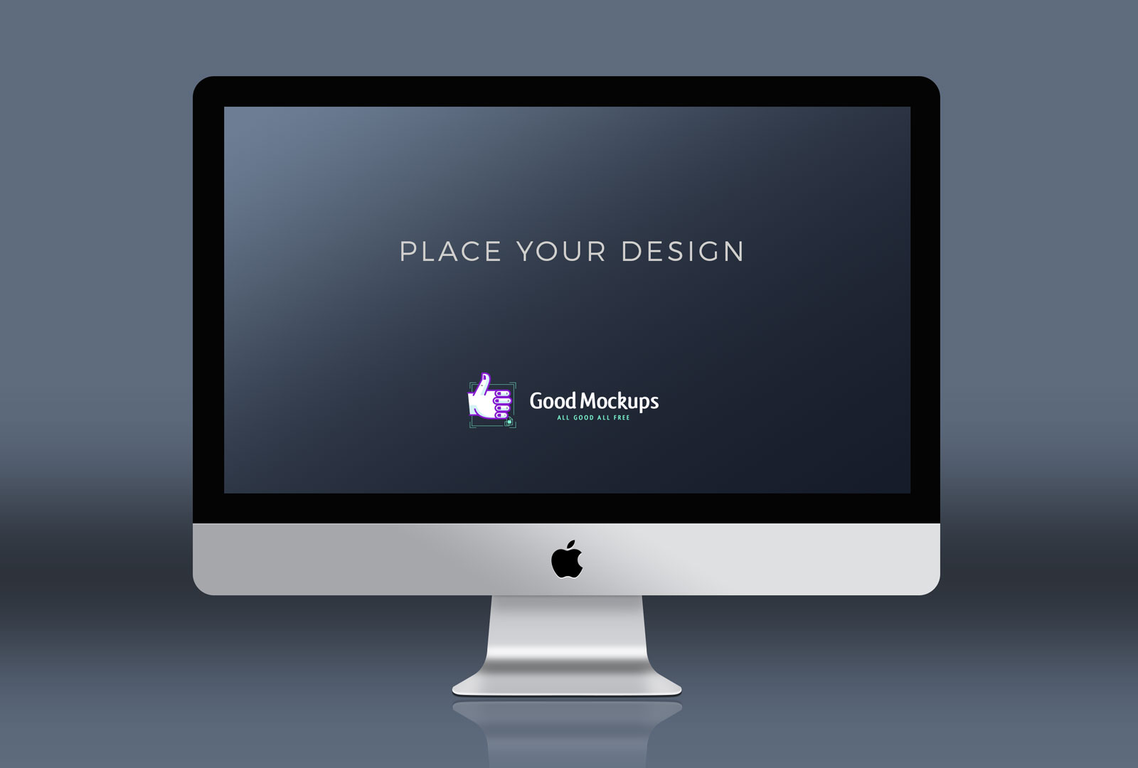 4 Premium Free Apple Imac Mockup Psd Templates Good Mockups