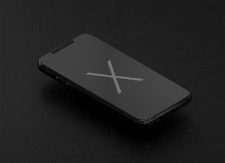 Free-Apple-iPhone-X-Black-Mockup-PSD-3D-Render