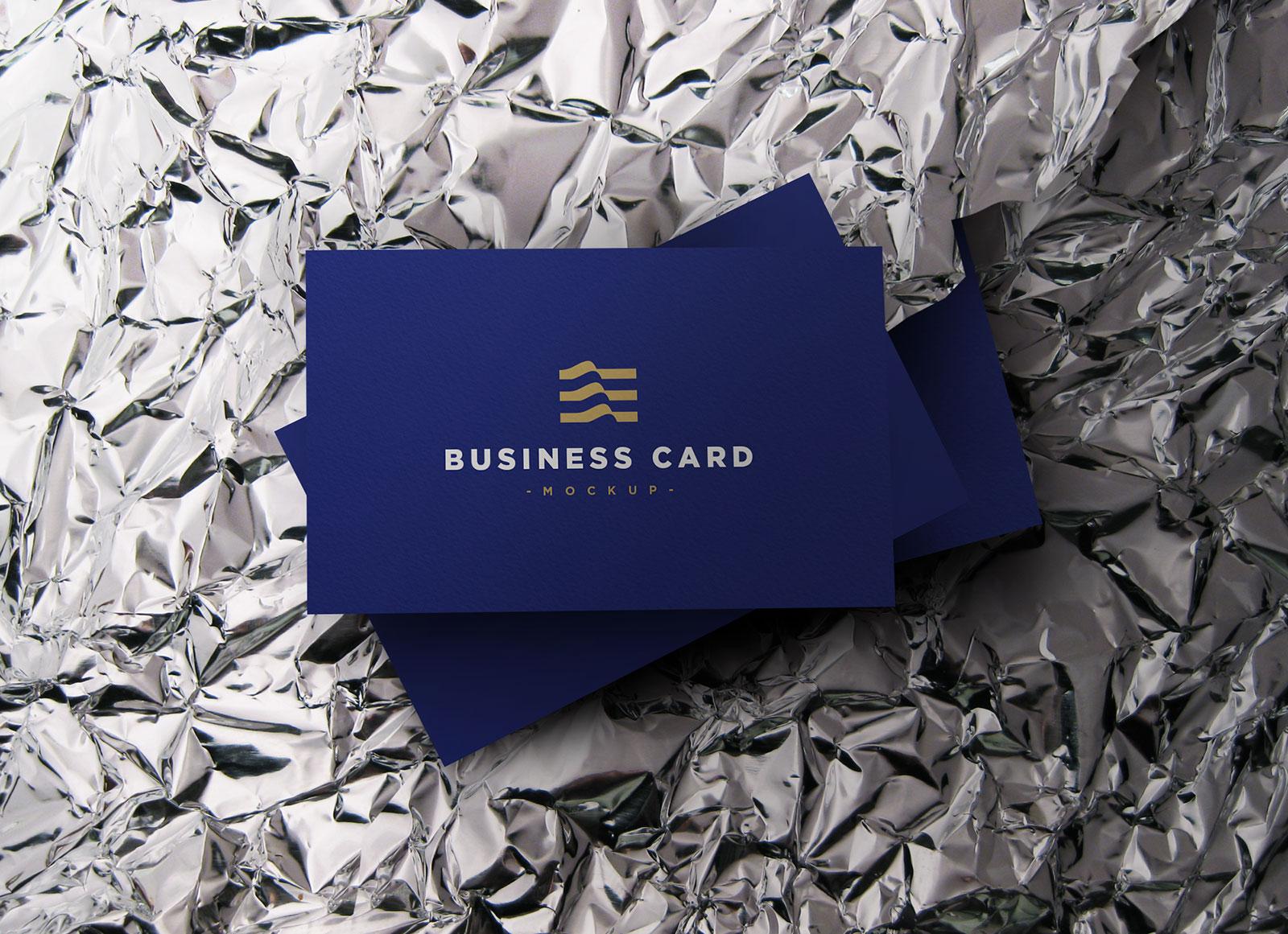 Free-Black-Elegant-Business-Card-Mockup-PSD-File