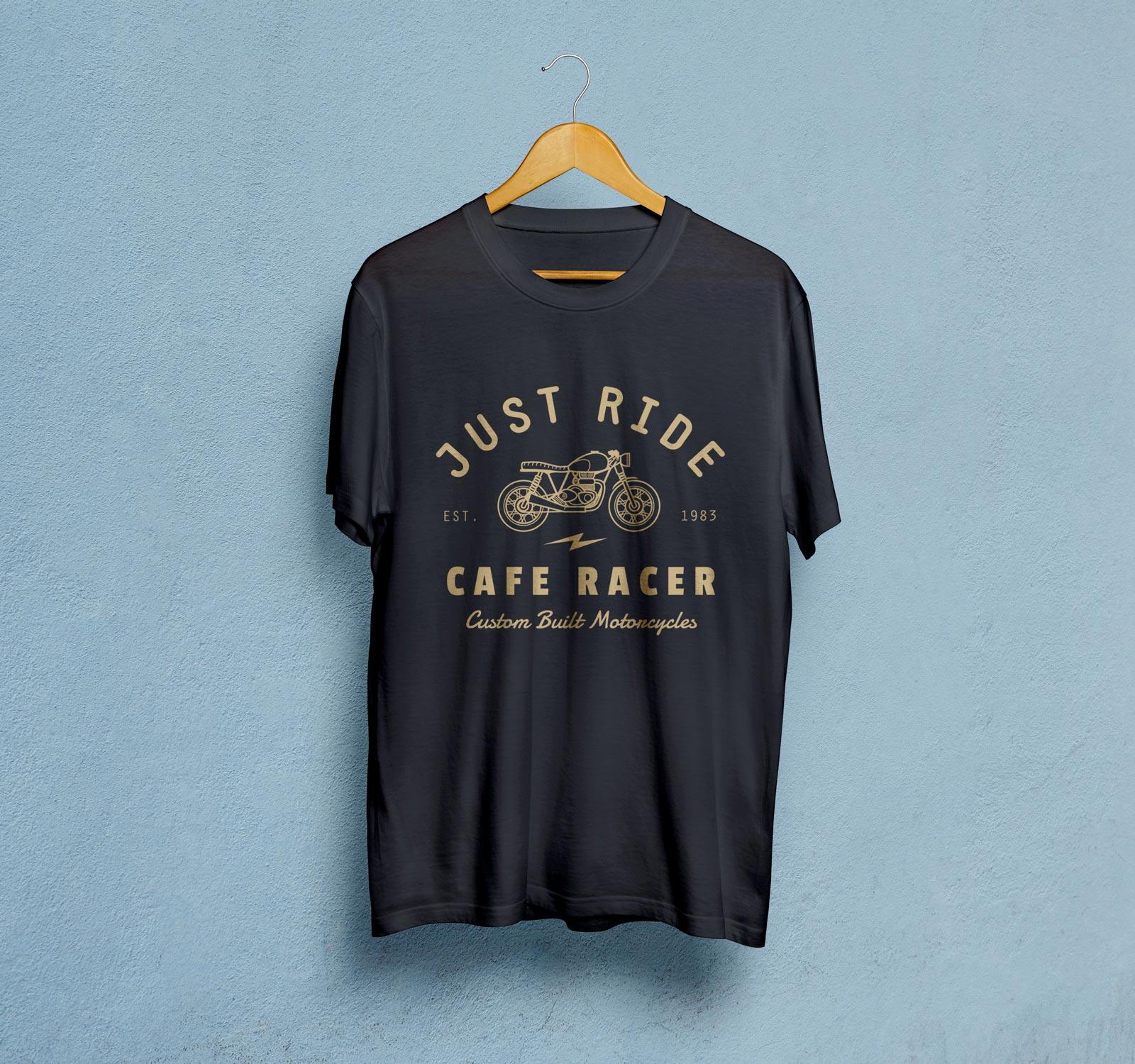 Free-Black-Half-Sleeves-T-Shirt-Mockup-PSD-File