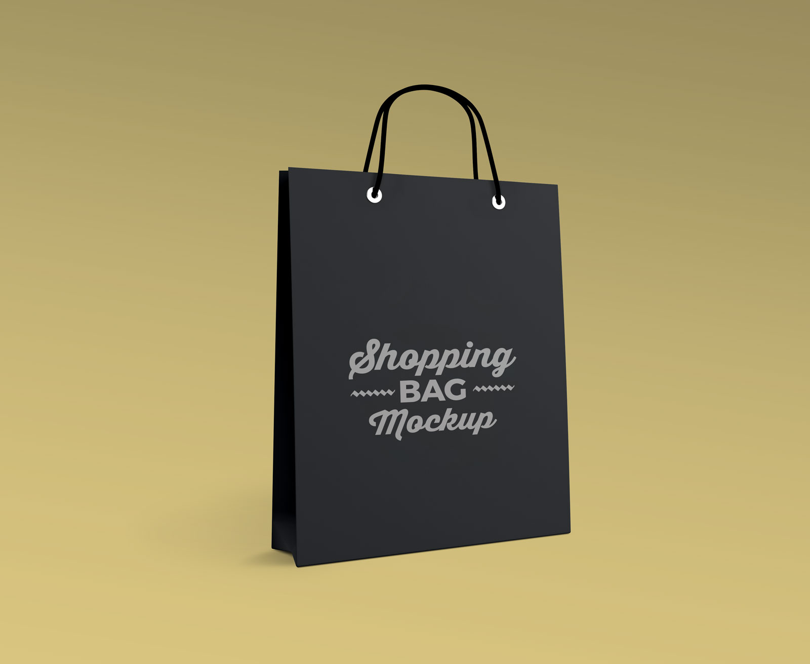 Free Photorealistic Paper Shopping Bag Mockup Psd Good