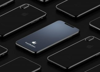 Free-Black-iPhone-8-Infinity-Mockup-PSD
