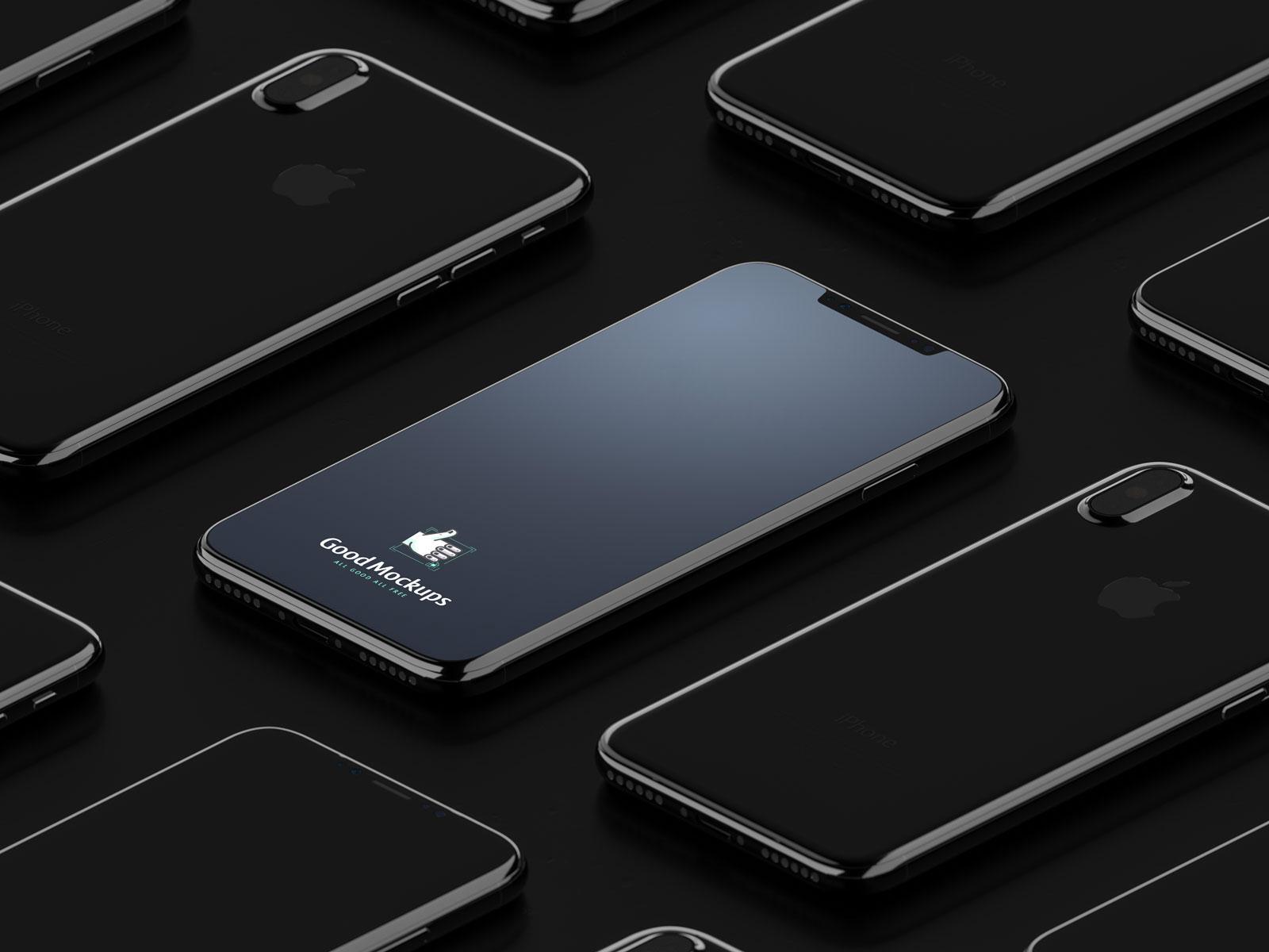 Free-Black-iPhone-8-Infinity-Mockup-PSD