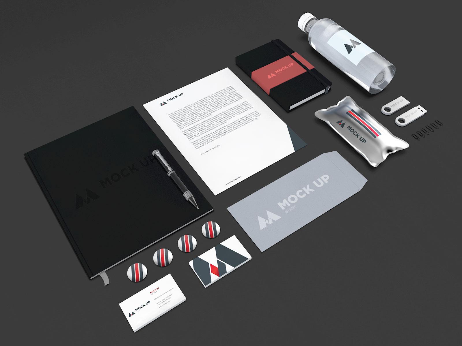Free-Branding-Identity-Mockup-PSD-File