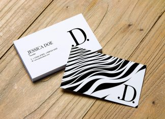 Free-Business-Card-Mockup-PSD-File