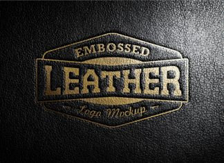 Free-Embossed-Leather-Stamping-Logo-Mockup-PSD