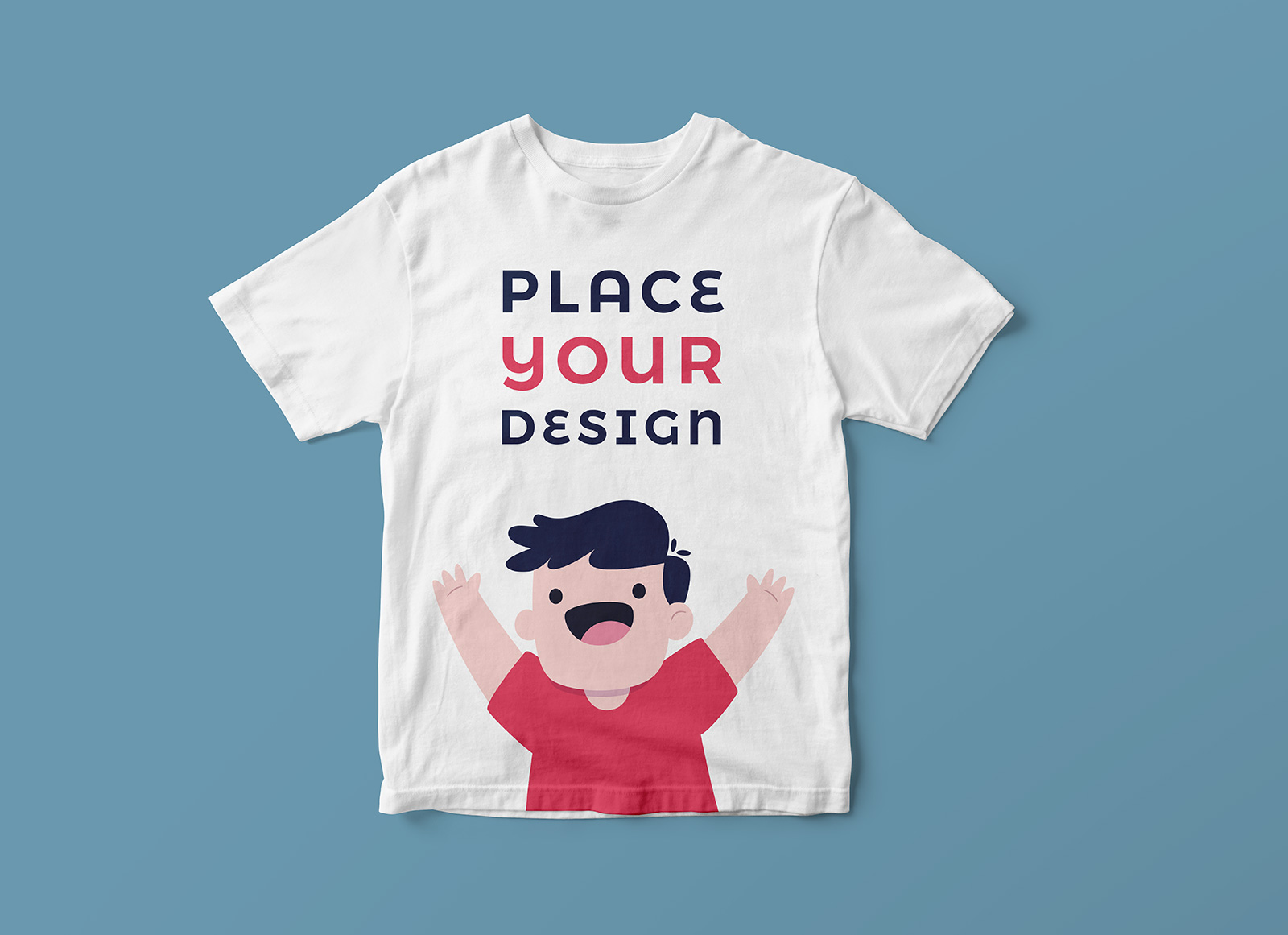 Free Short Sleeves Kids T Shirt Mockup Psd Good Mockups