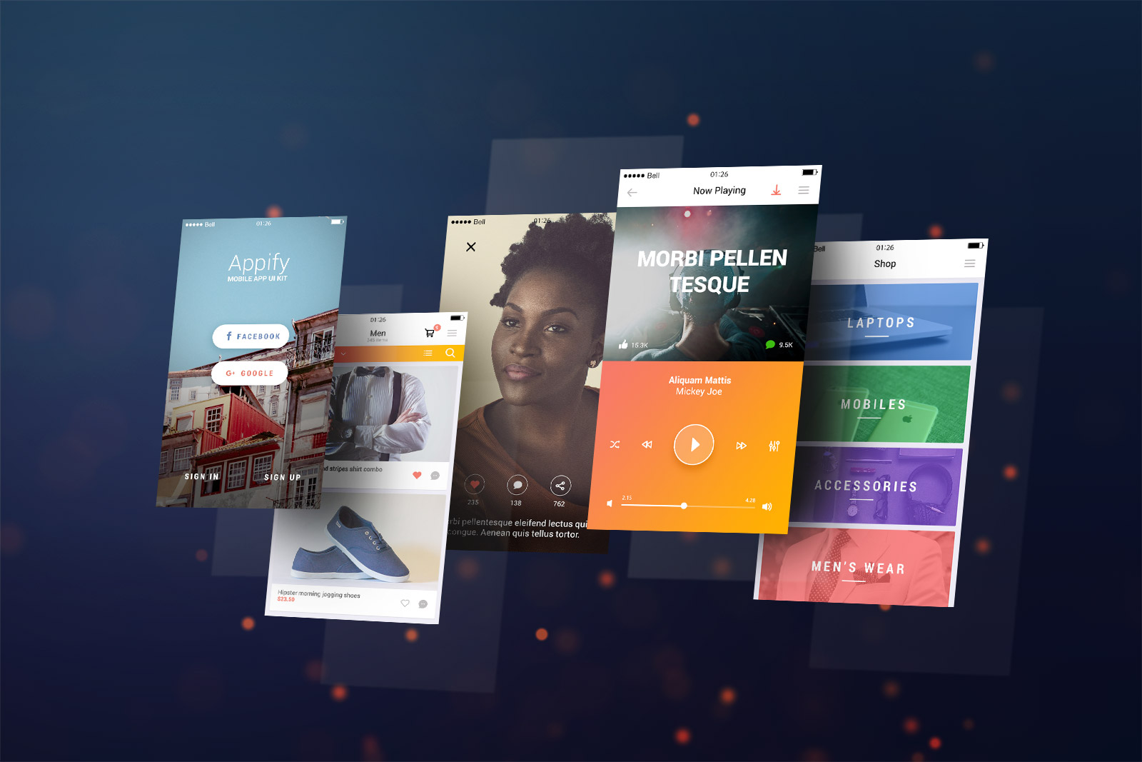 Free-Mobile-App-Screen-Mockup-PSD