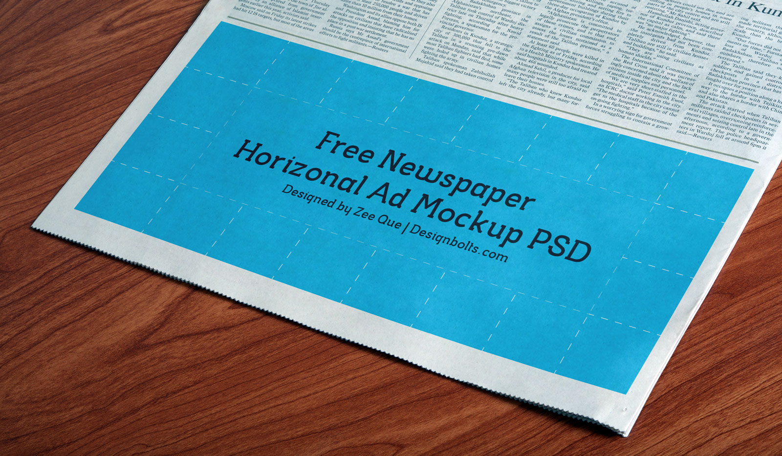 Free-Newspaper-Horizonal-Print-Ad-Mockup-PSD