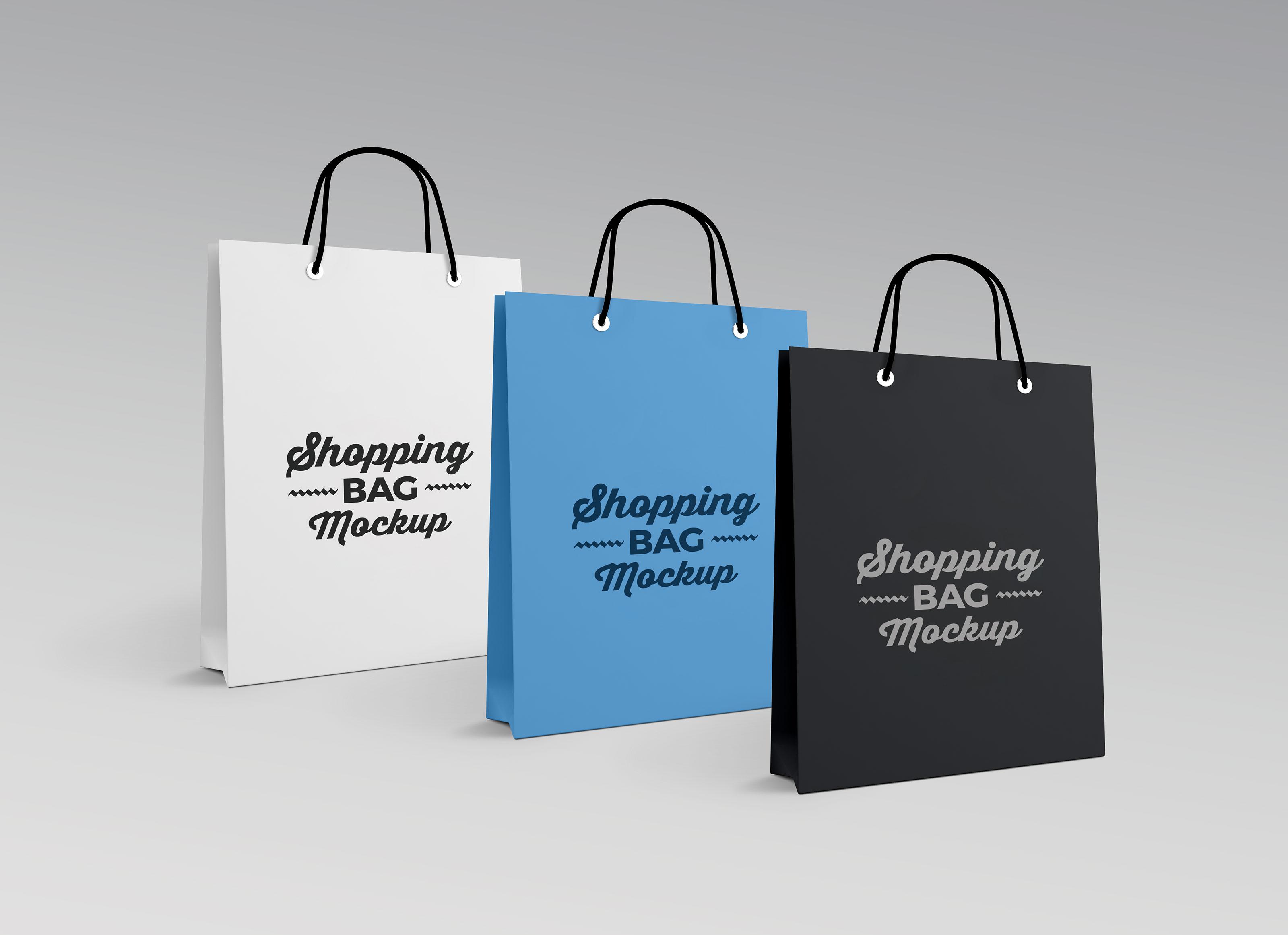 Free Photorealistic Paper Shopping Bag Mockup Psd Good Mockups
