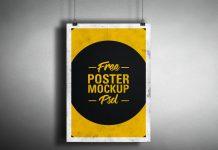 Free-Retro-Hanging-Poster-Mockup-PSD