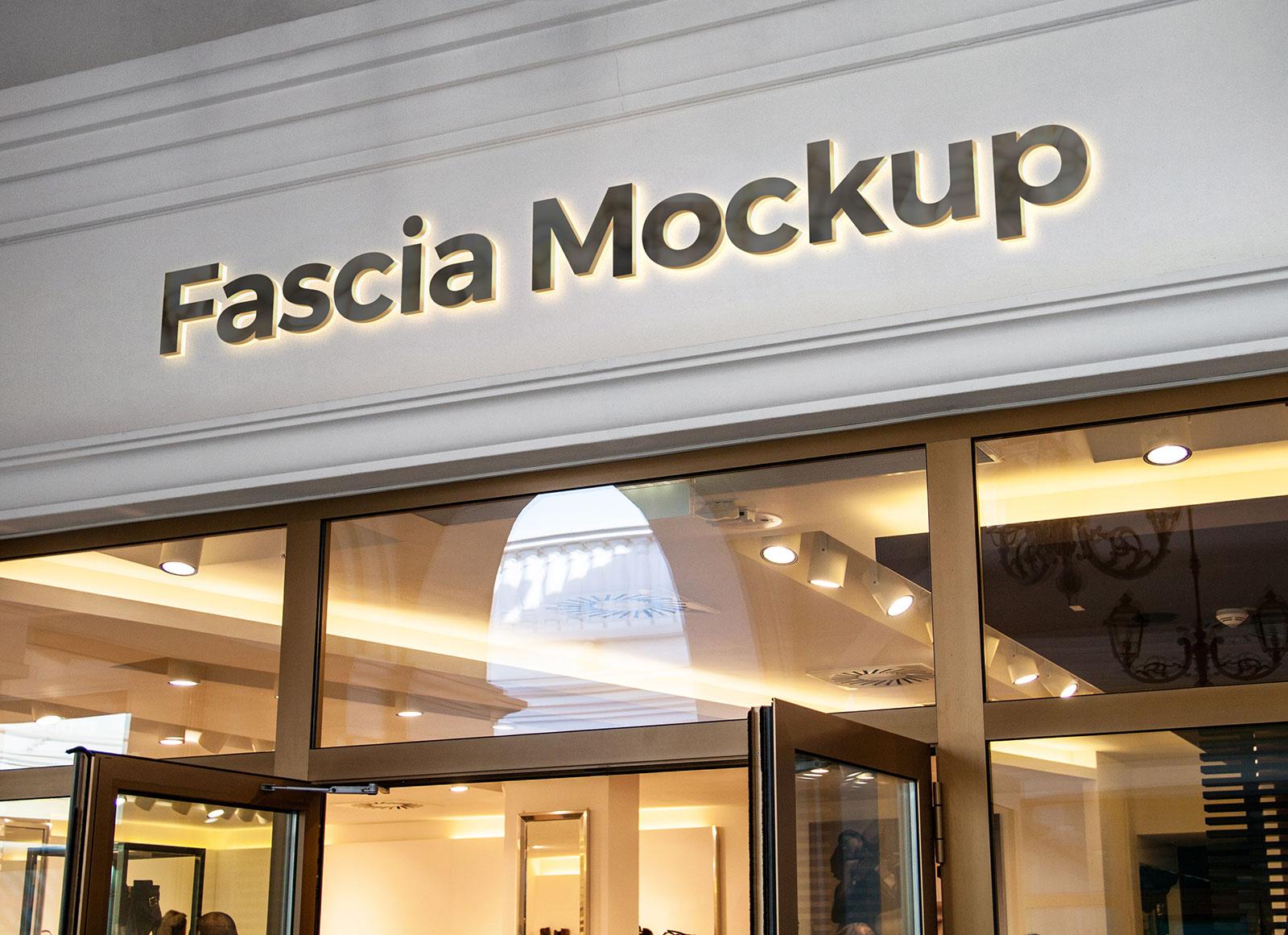 Free-Shop-Name-Fascia-Backlit-Logo-Mockup-PSD