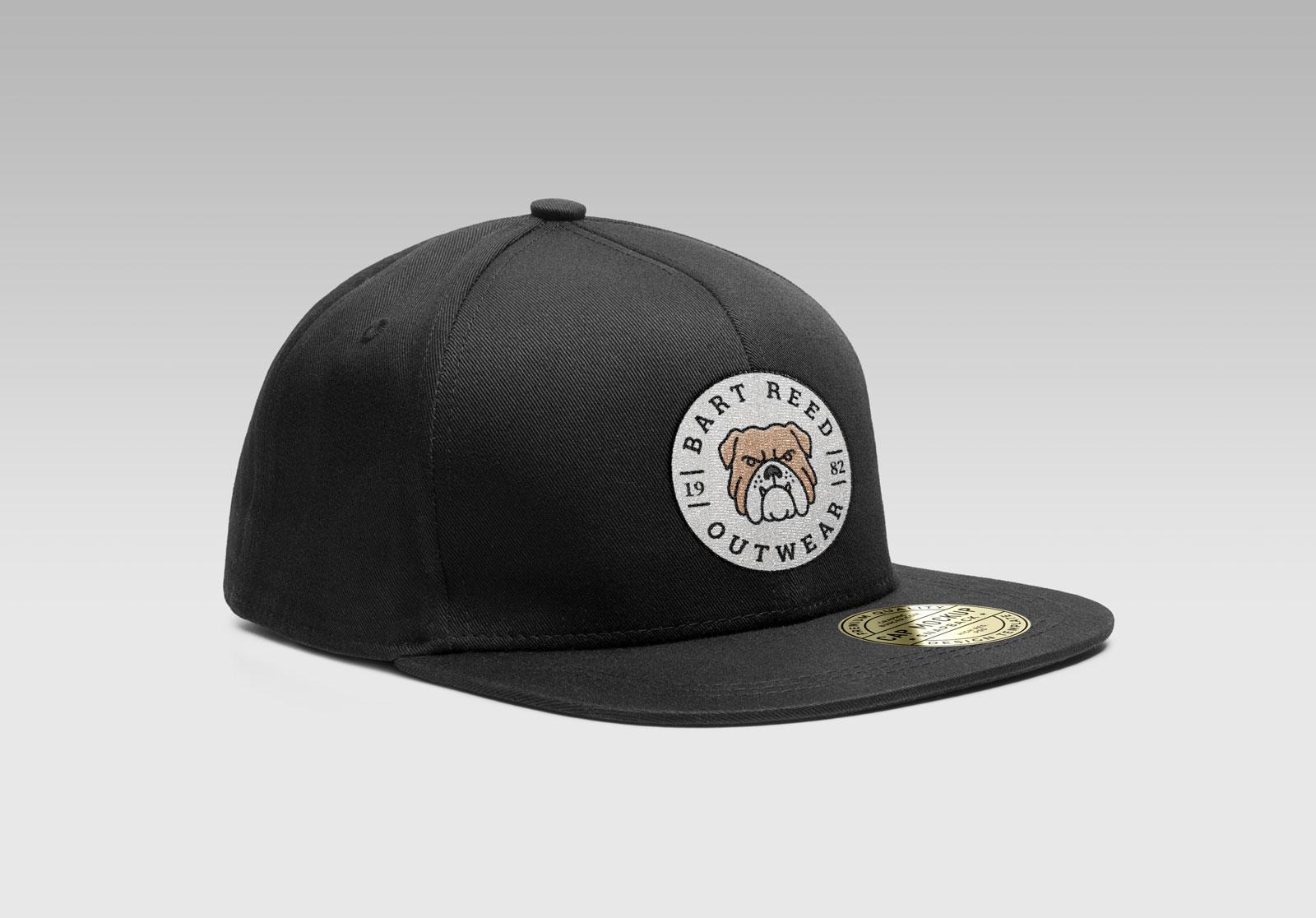 Free-Snapback-Men's-Cap-Mockup-PSD-With-Woven-Logo-2