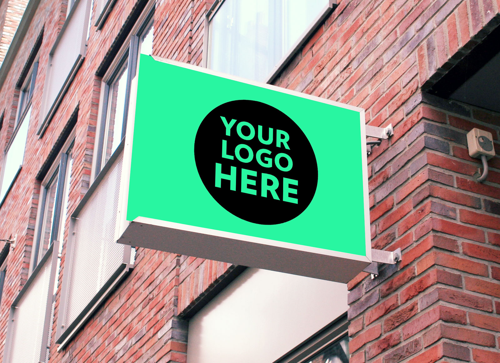 Free-Square-Wall-Mounted-Shop-Sign-Mockup-PSD-2