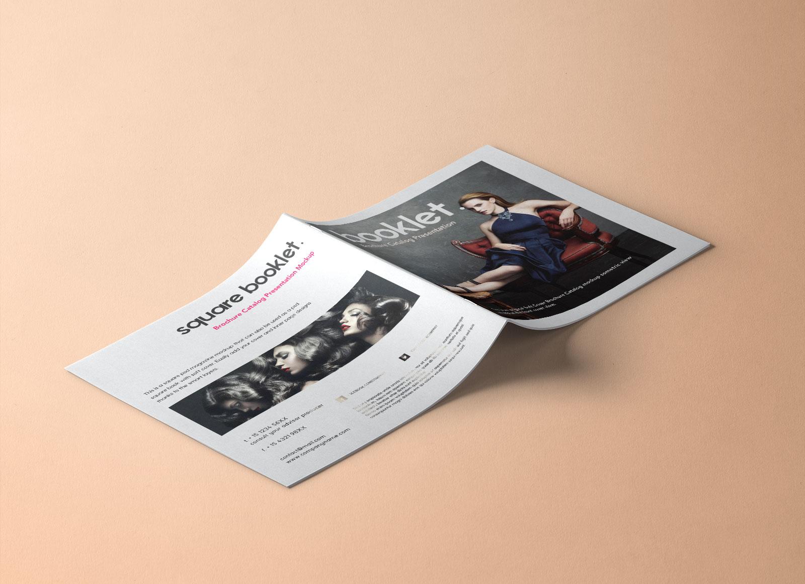Free-Square-Front-Back-Booklet-Brochure-Mockup-PSD