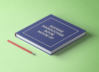 Free-Square-Hard-Cover-Book-Mockup-PSD