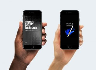 Free-iPhone-7-in-Hand-Photo-Mockup-PSD