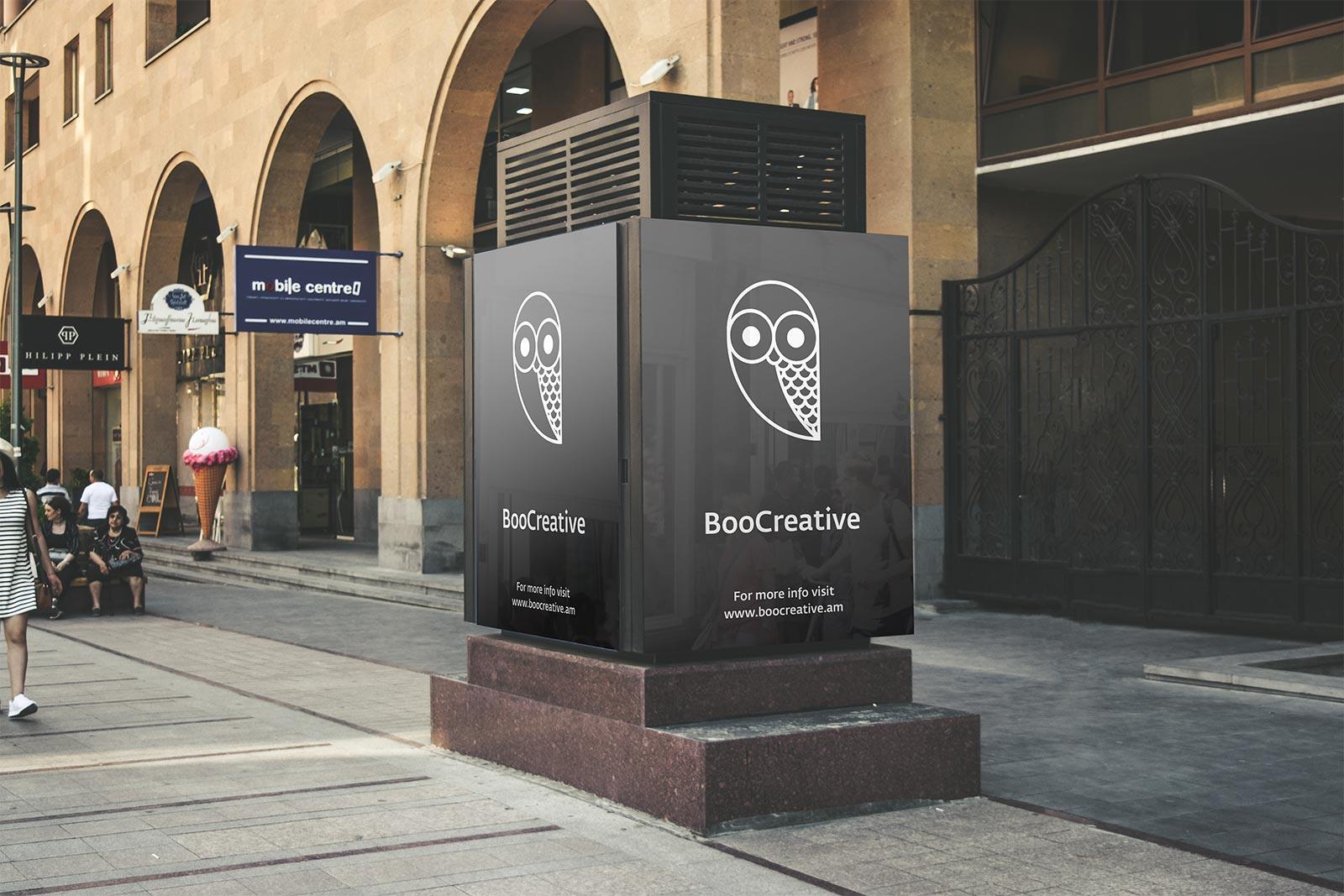 2 free portrait street billboard psd mockups