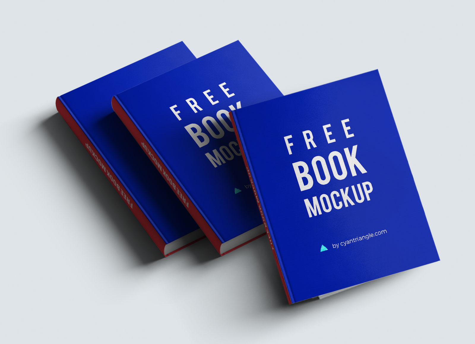 10 free hardcover book mockup psd set good mockups. Black Bedroom Furniture Sets. Home Design Ideas