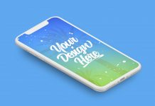 FREE-iPhone-X-Vector-Isometric-Matte-Clay-Mockup