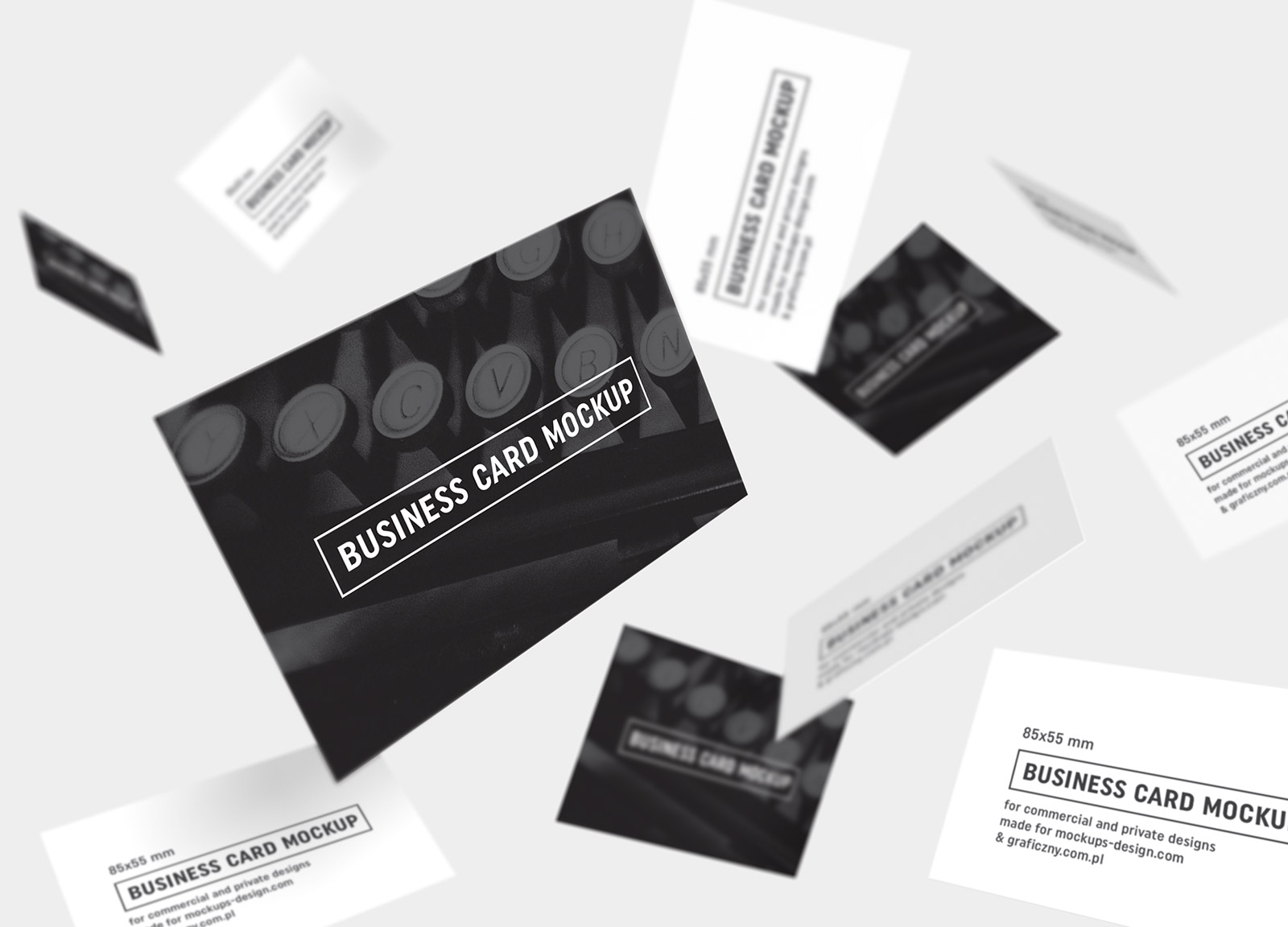 Free-Black-&-White-Business-Card-Mockup-PSD (2)