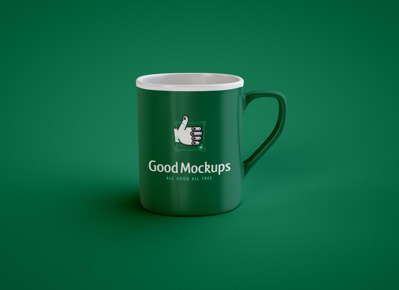 free coffee mug mockup psd 2