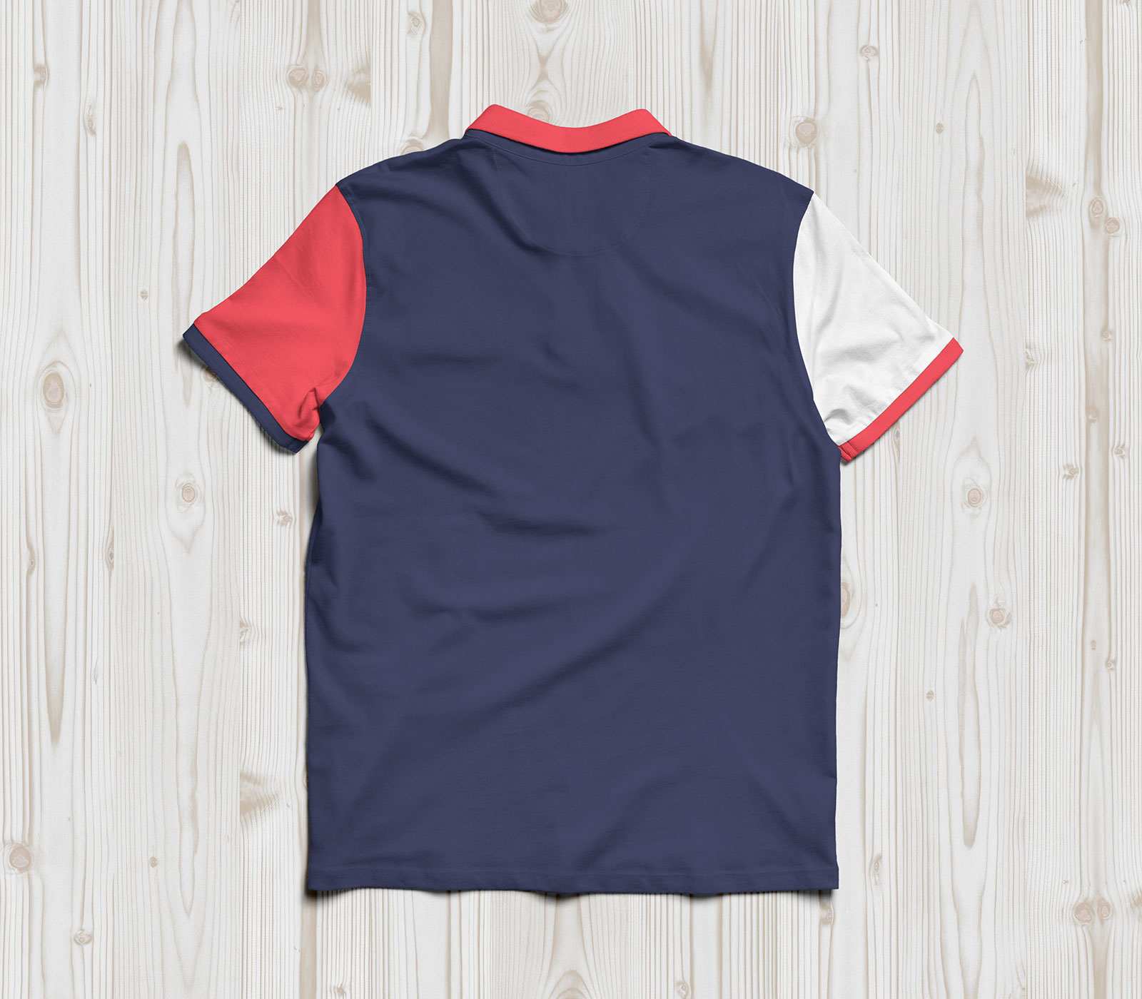 Free-Half-Sleeves-Polo-T-Shirt-Mockup-PSD-3