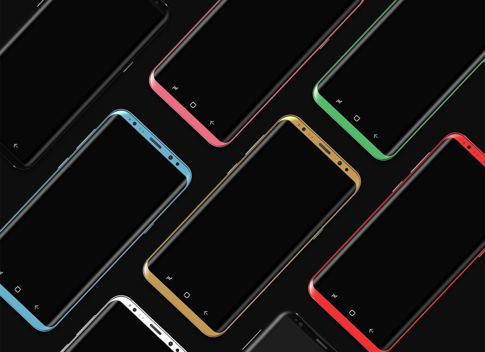 Free-Layered-Samsung-Galaxy-S8-Smartphone-Mockup-PSD-2