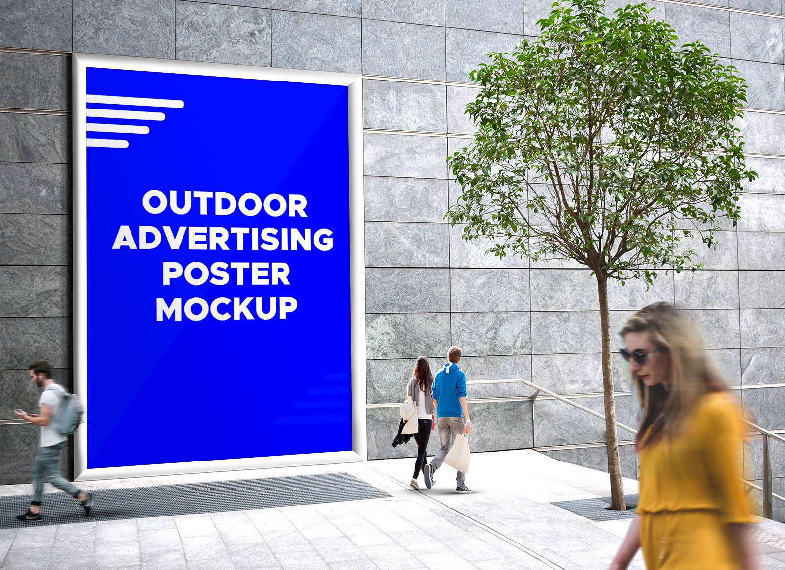 Free-Outdoor-Advertising-Street-Billboard-Mockup-PSD