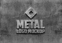 Free-Photorealistic-Metal-Logo-Mockup-PSD