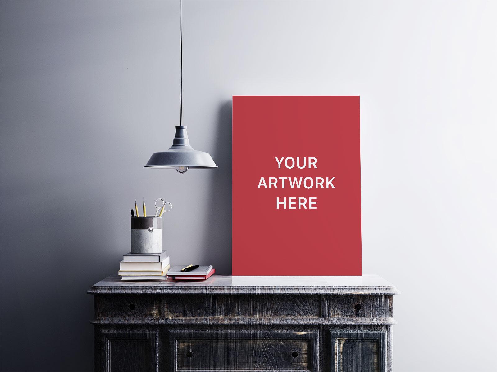 Free-Premium-Quality-Photo-Poster-Frame-Mockup-PSD-File-2