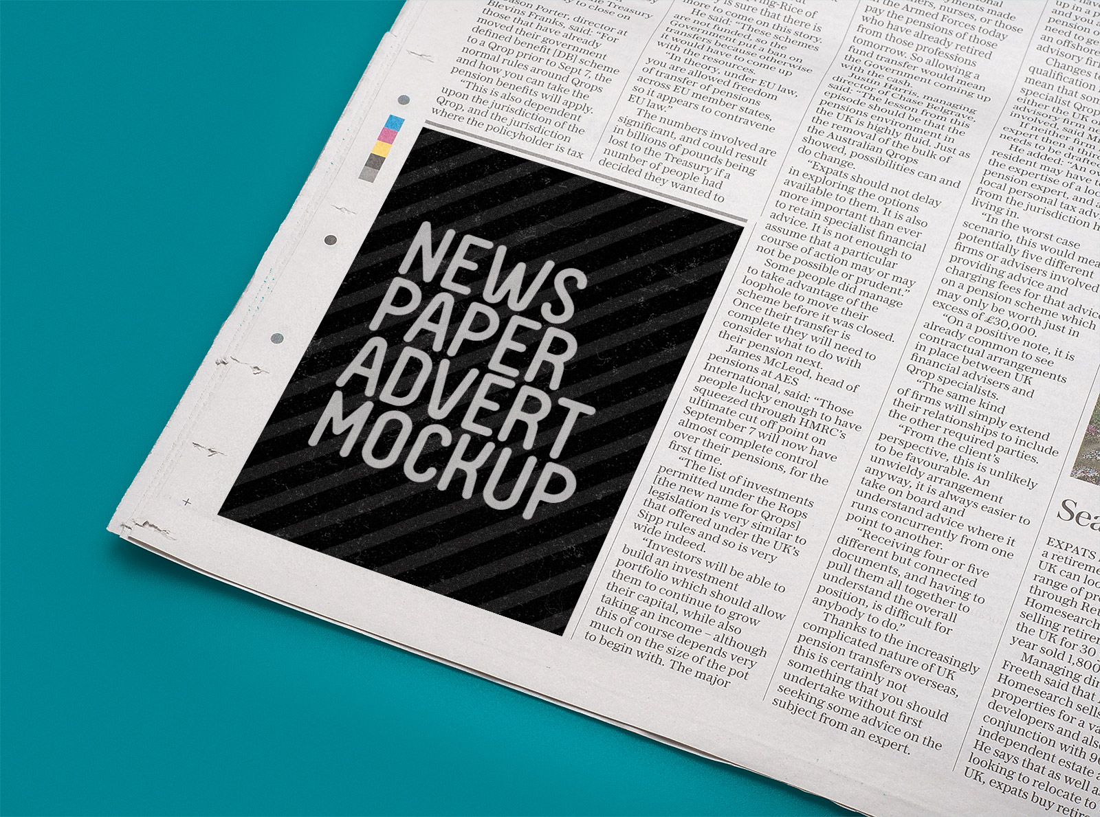 Free-Vertical-Newspaper-Advert-Mockup-PSD