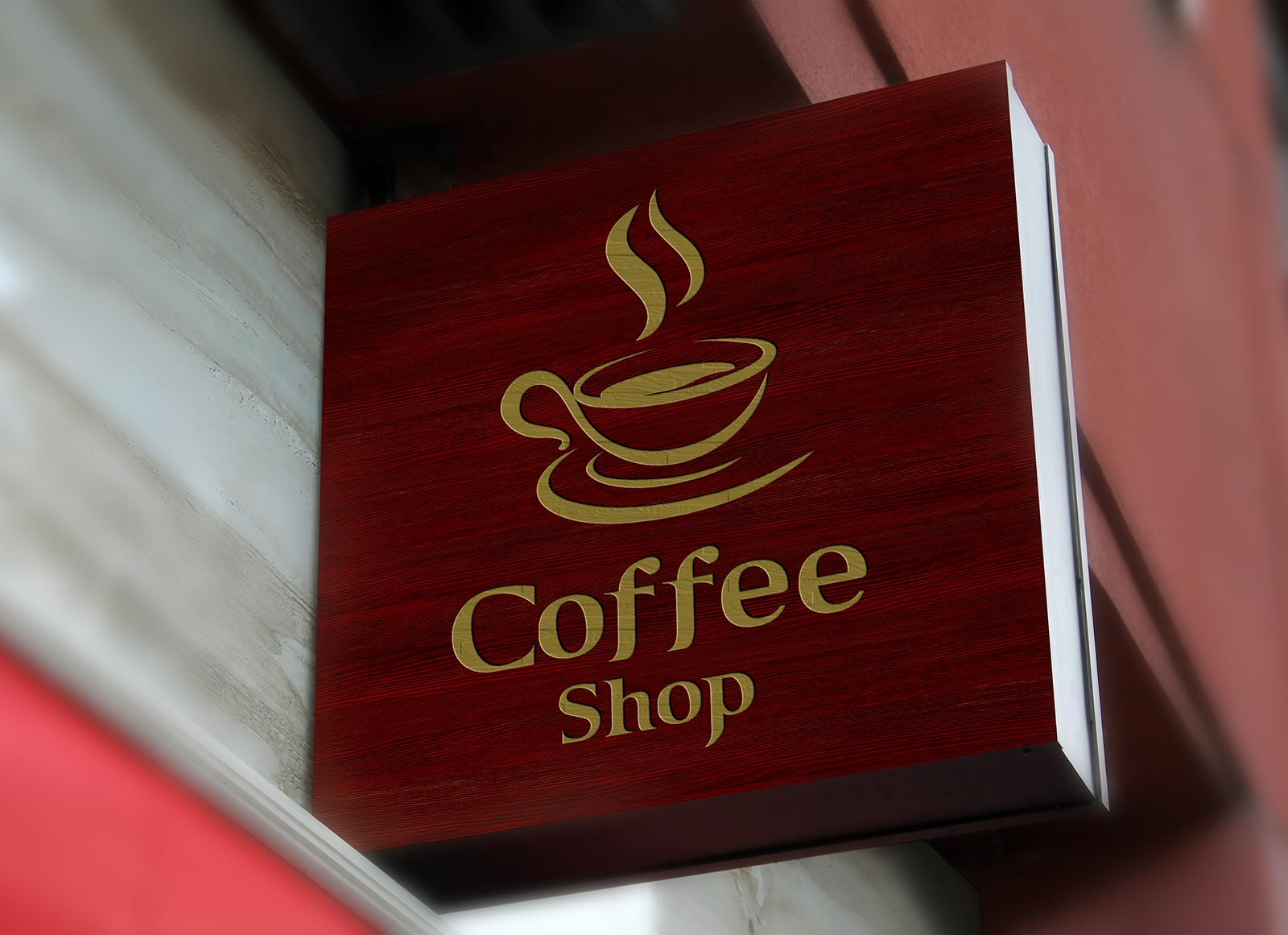 Free-Wall-Mounted-Coffee-Shop-Sign-Board-Mockup-PSD-3
