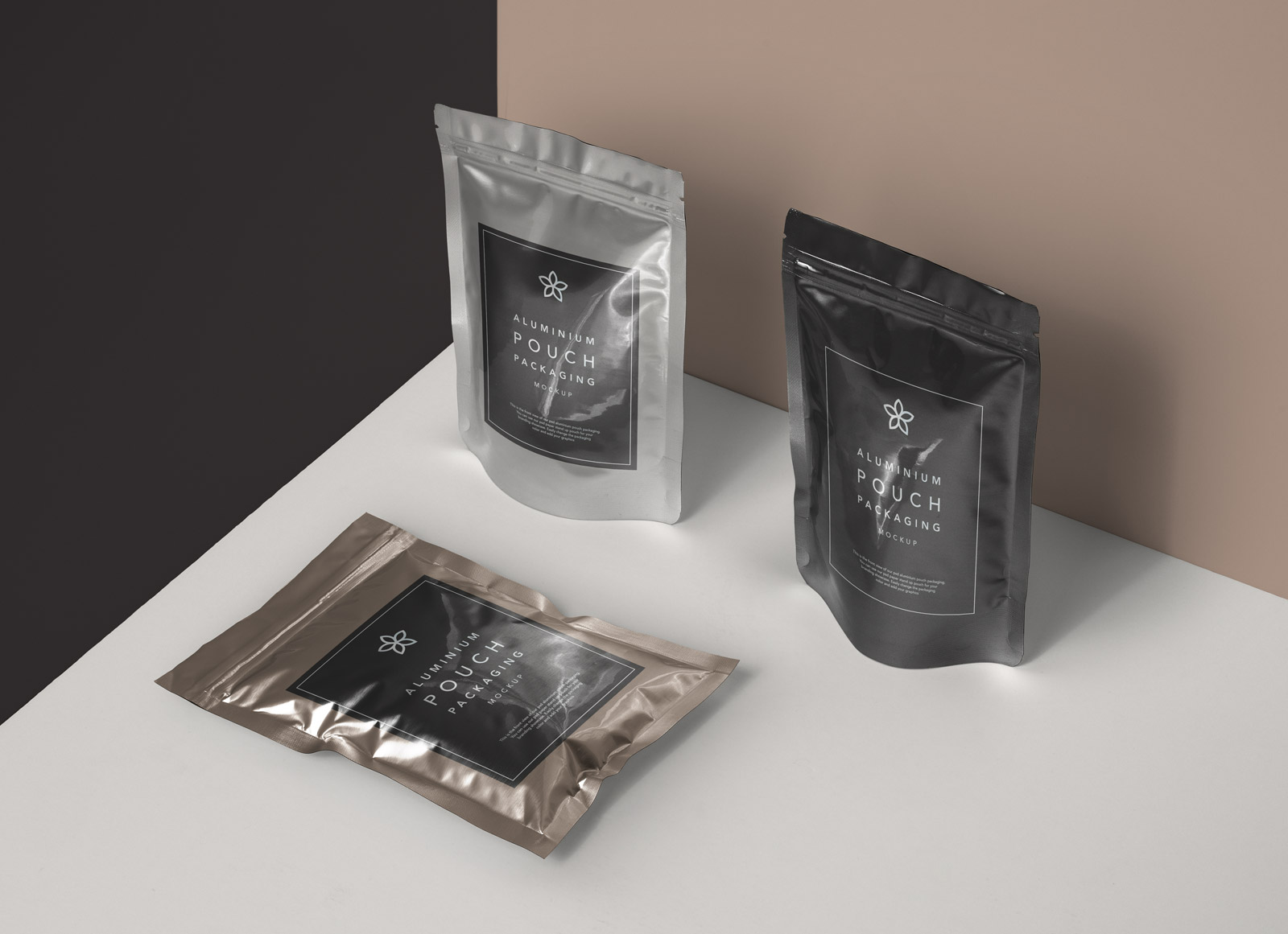 Free Aluminium Foil Pouch Packaging Mockup Psd Good Mockups