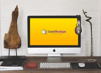 Free-Apple-iMac-Workspace-Mockup-PSD-Files