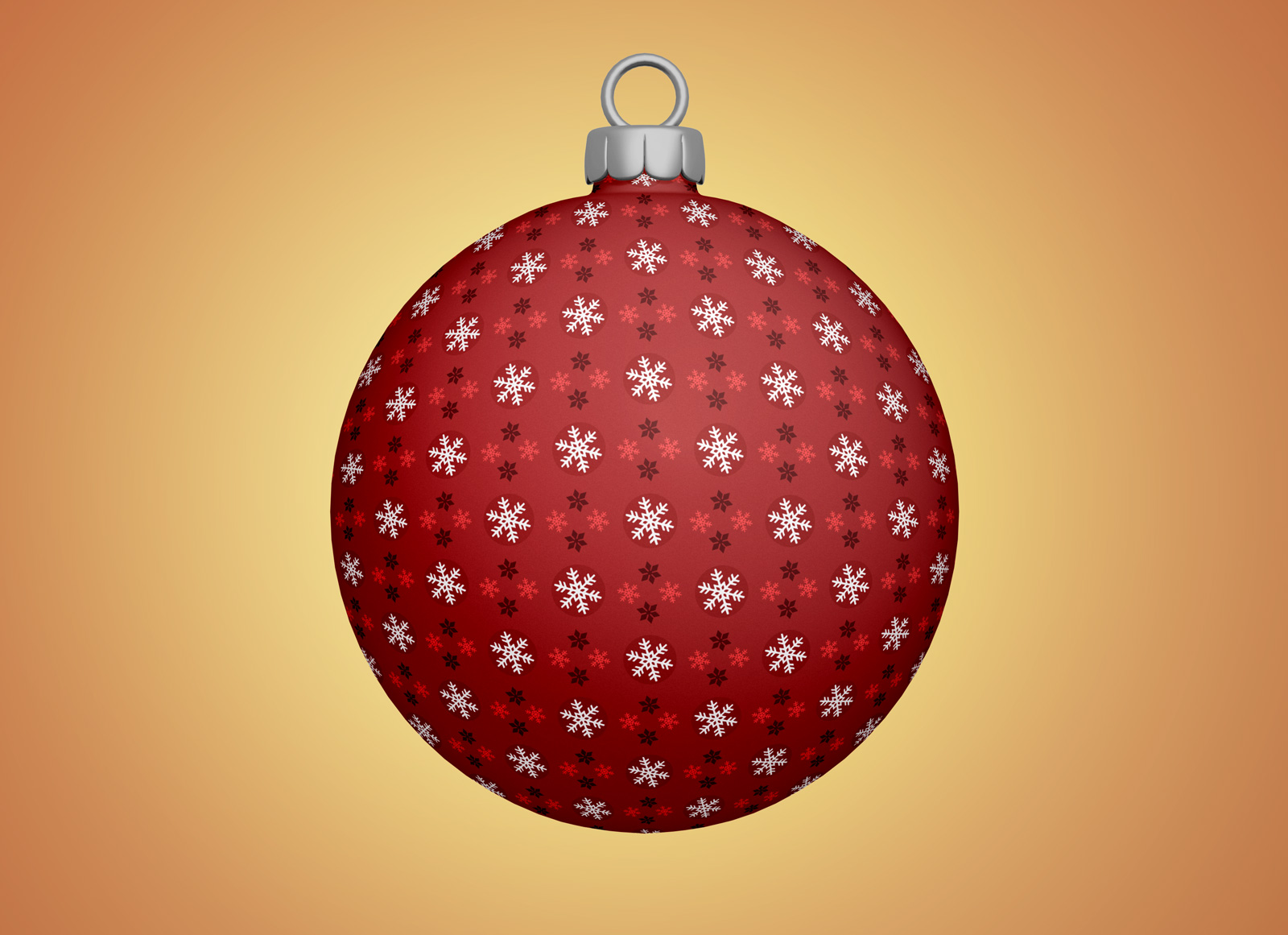 Free Christmas Tree Bauble / Ball Ornaments Mockup PSD ...
