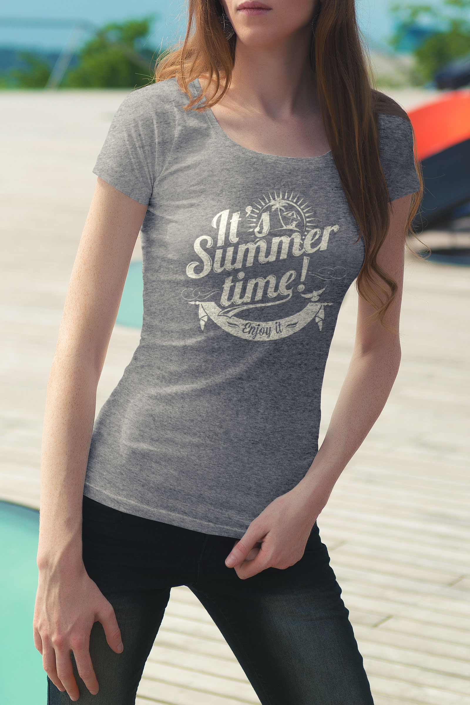 Free-Female-T-Shirt-Mockup-PSD
