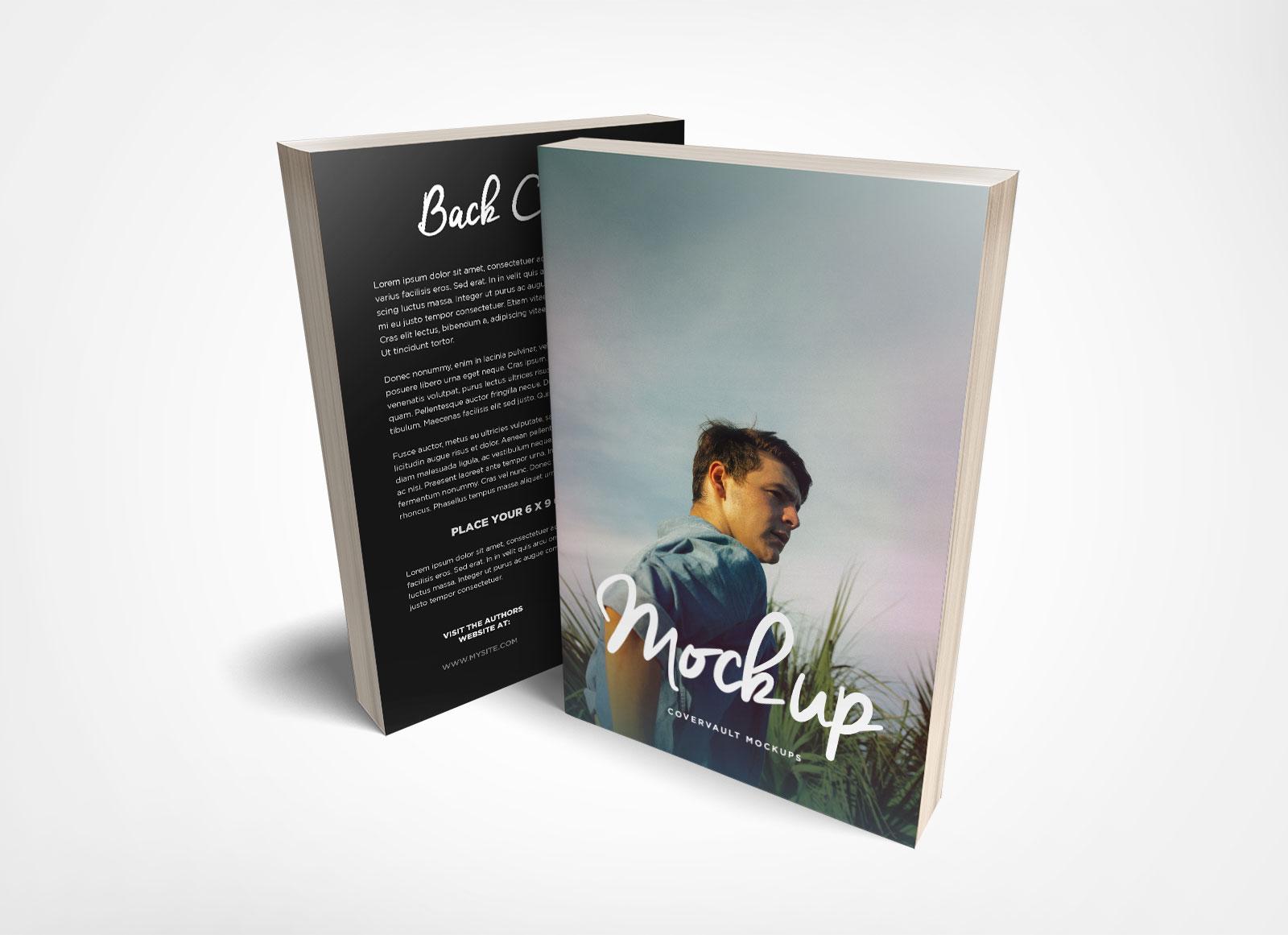 Free-Front-&-Back-Paperback-Book-Mockup-PSD-File