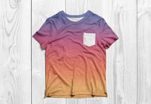 Free-Half-Sleeves-Pocket-T-Shirt-Mockup-PSD-2