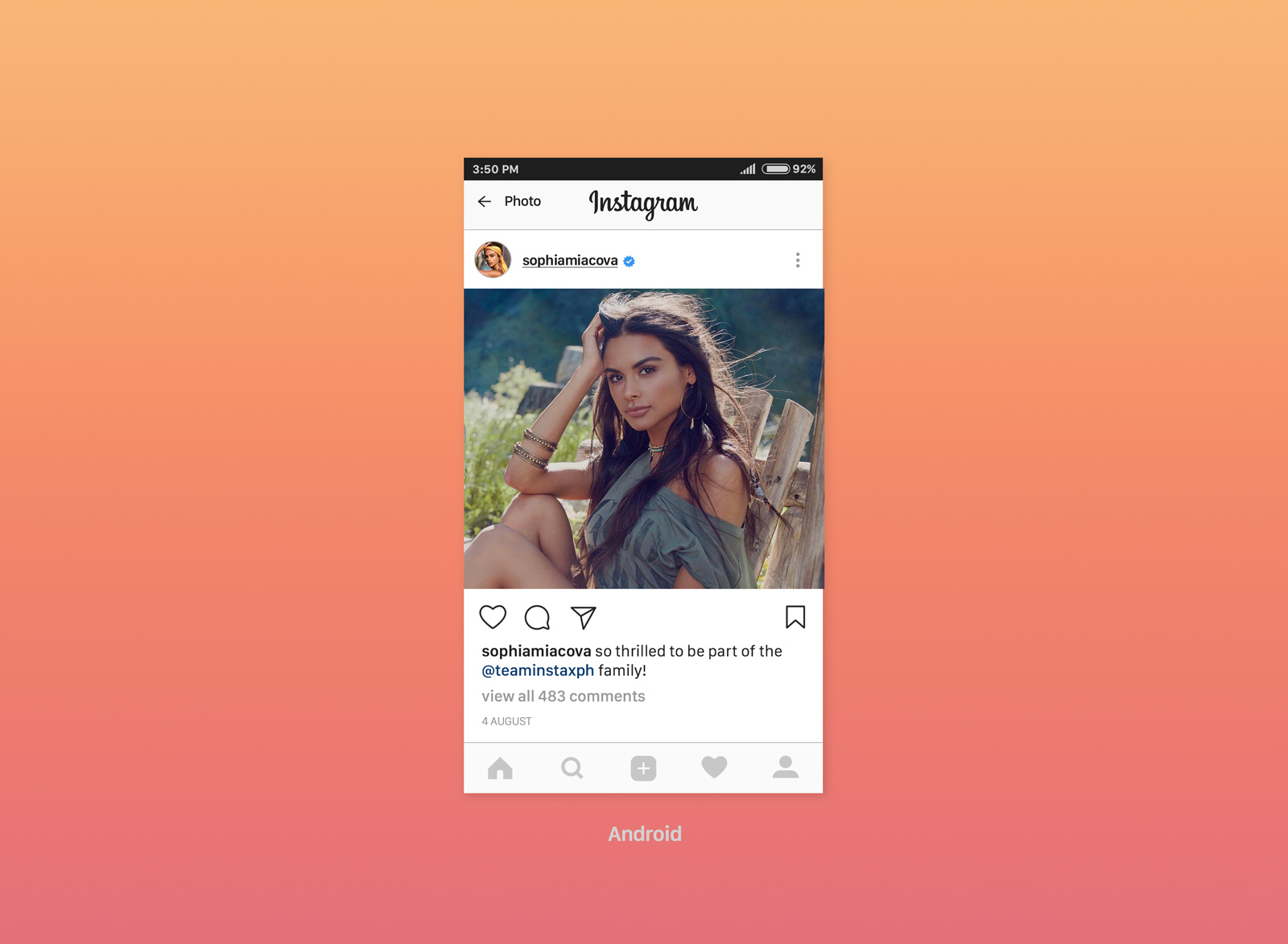 Instagram Frame Vector