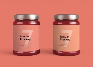 Free-Jam-Jar-Bottle-Mockup-PSD