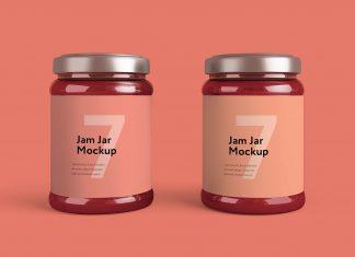 Free-Jam-Jar-Bottle-Mockup-PSD